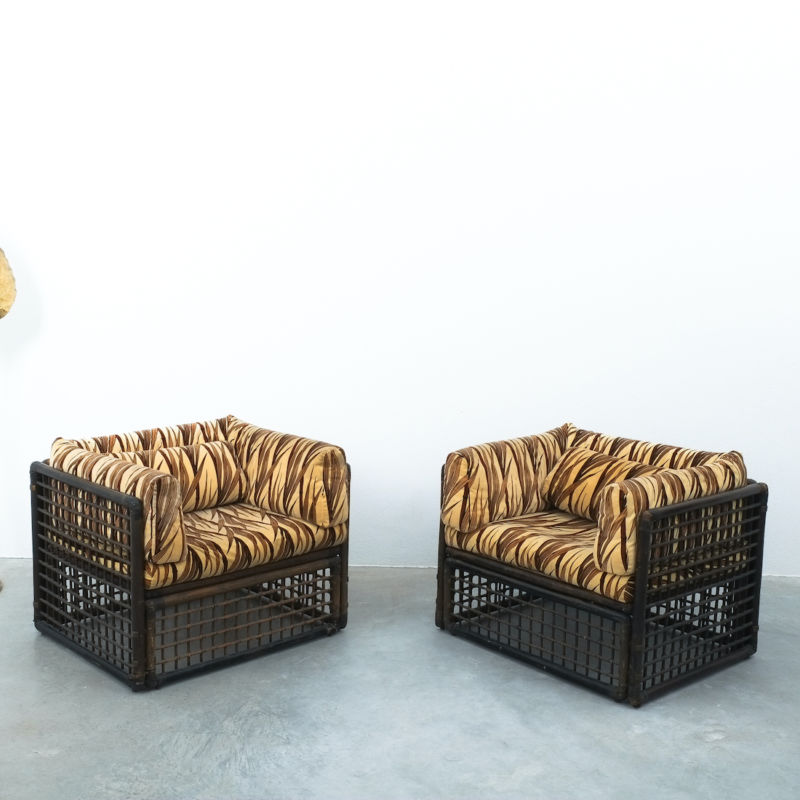 Tobia Scarpa Bamboo Chairs 07