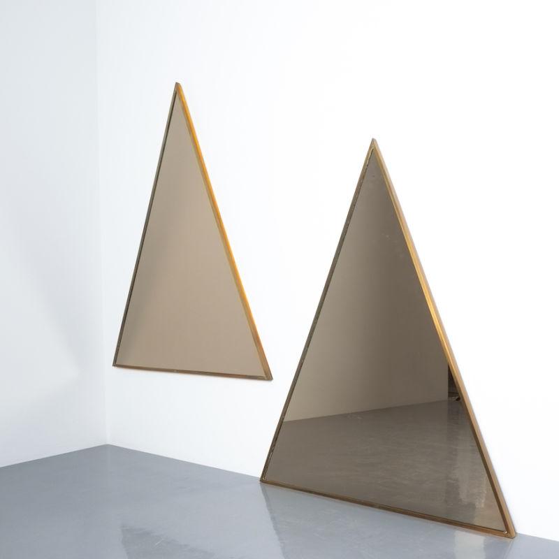 triangular mirror brass italy derive_07