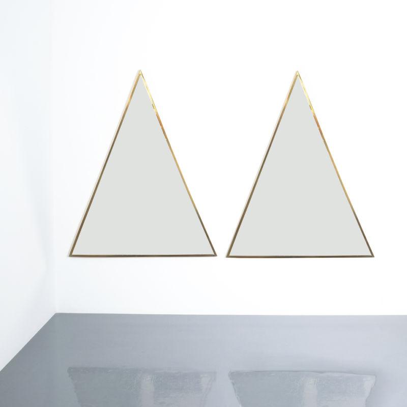 triangular mirror brass italy derive_08