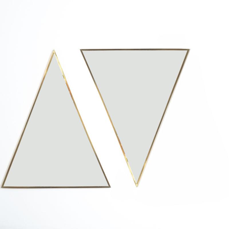 triangular mirror brass italy derive_10