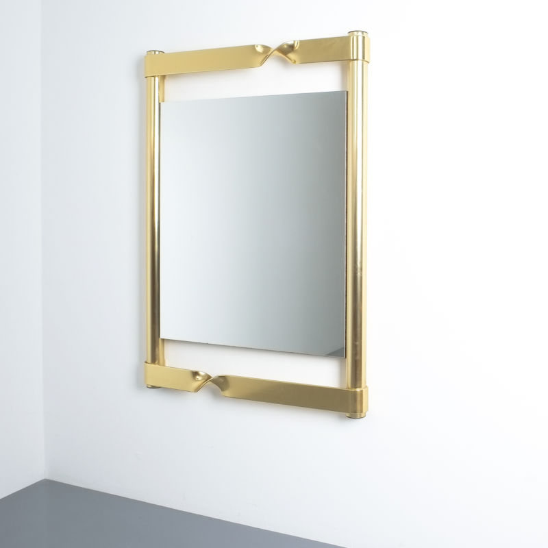 twisted mirror brass italy_01
