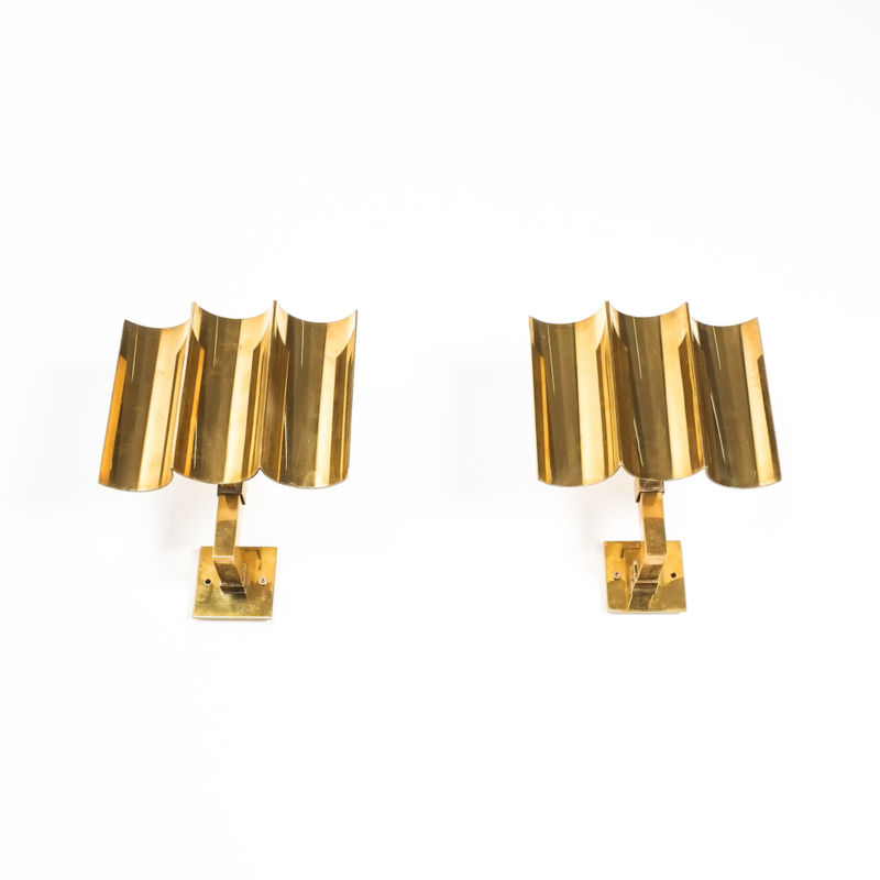 wave brass sconces 11 Kopie