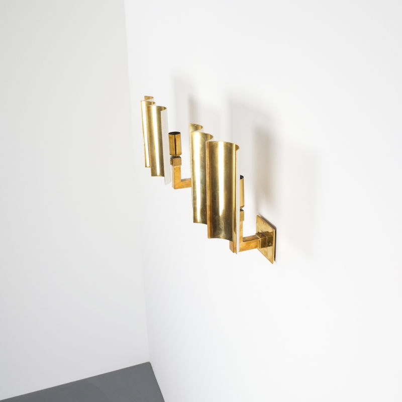 wave brass sconces 16 Kopie