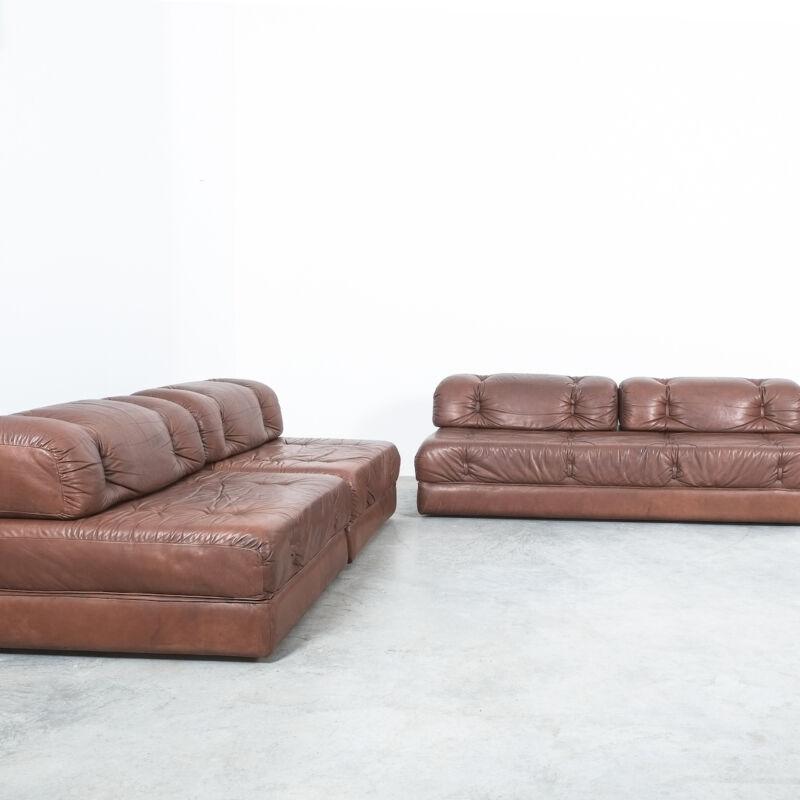Wittmann Atrium Sofa Chairs Leather 08