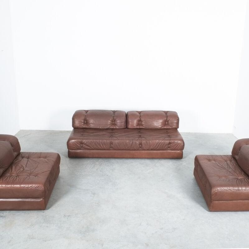 Wittmann Atrium Sofa Chairs Leather 11