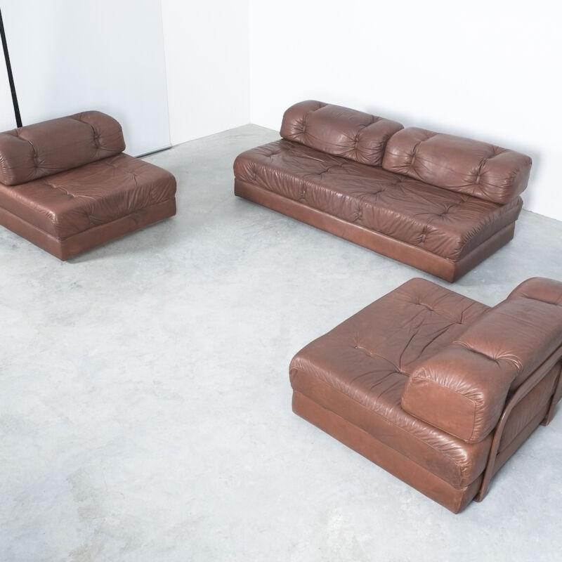 Wittmann Atrium Sofa Chairs Leather 12