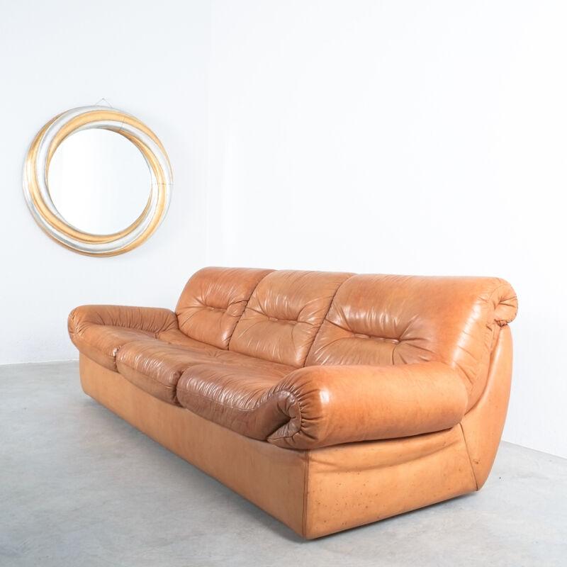 Wittmann Chairman Leather Sofa 03