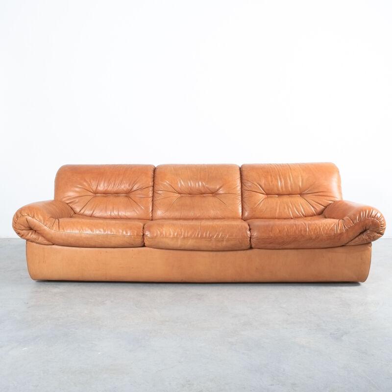 Wittmann Chairman Leather Sofa 04