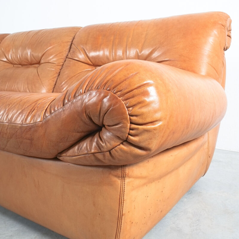 Wittmann Chairman Leather Sofa 05