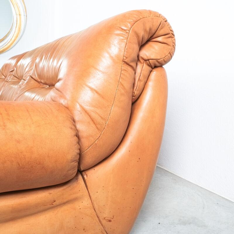 Wittmann Chairman Leather Sofa 07