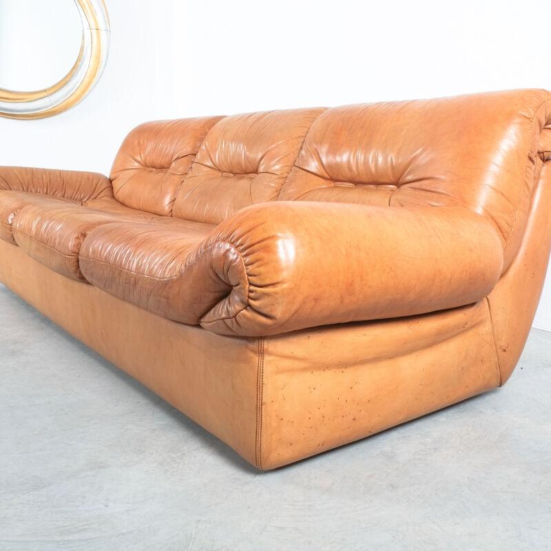 Wittmann Chairman Leather Sofa 08