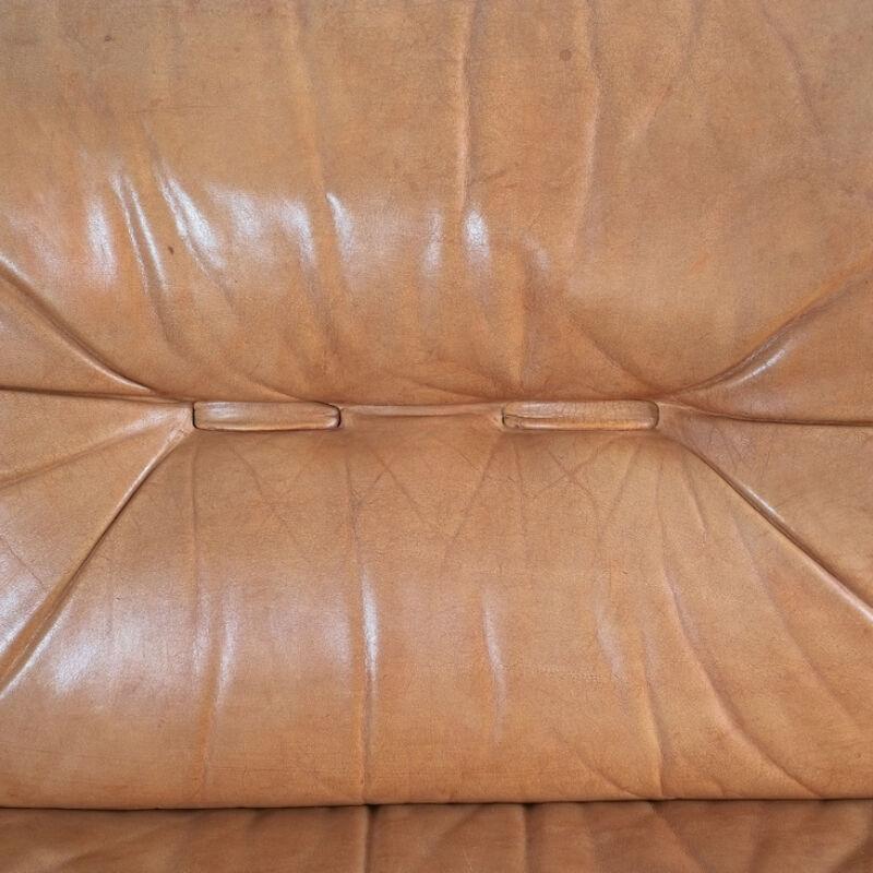 Wittmann Chairman Leather Sofa 09