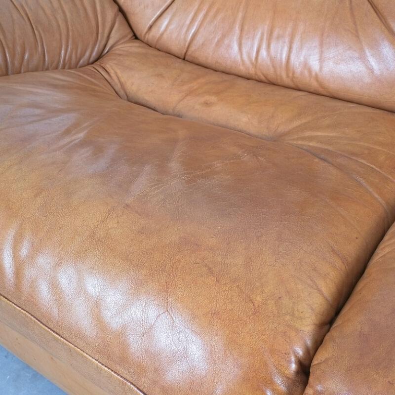 Wittmann Chairman Leather Sofa 10
