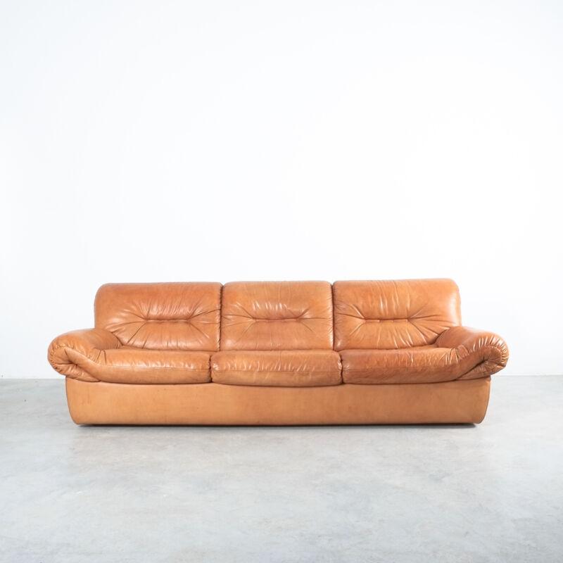Wittmann Chairman Leather Sofa 11