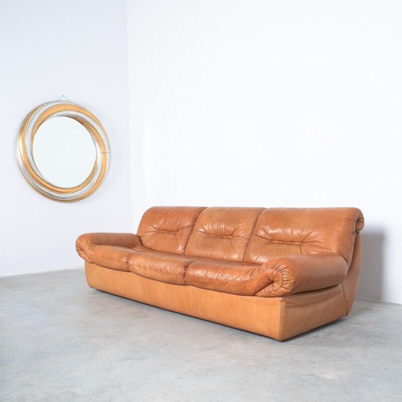 Wittmann Chairman Leather Sofa 12