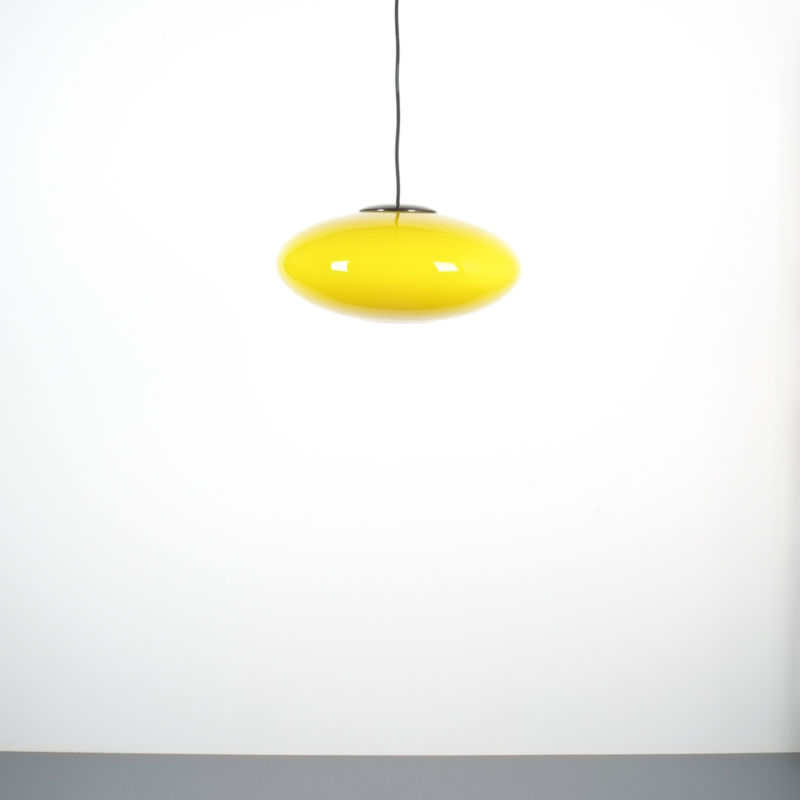 yellow stilnovo pendant lamp_01