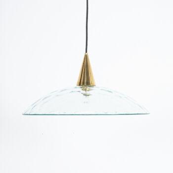 Fontana Arte Lamp Glass Brass 11