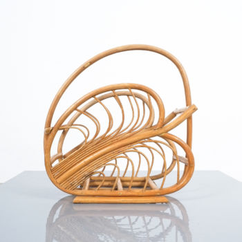 Rattan Art Nouveau Holder 05