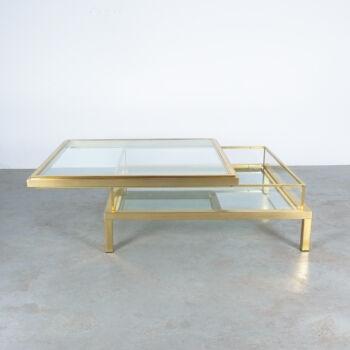 Maison Jansen Vitrine Table Brass 01