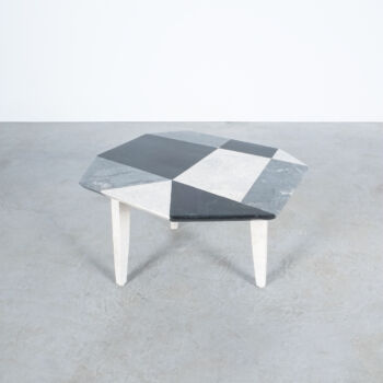 Marble Mosaic Table Small 03