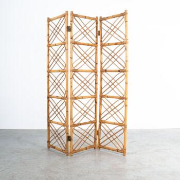 Rattan Bamboo Screen Divider 05
