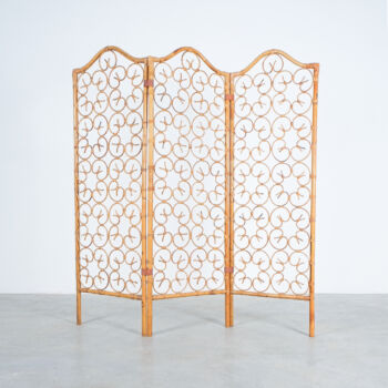 Rattan Screen Room Divider 1970 08