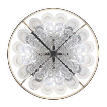 Sciolari Flush Mount Palwa Crystal 05