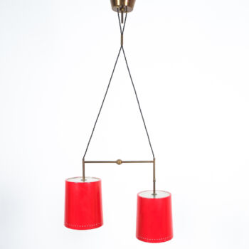 Stilnovo Double Pendant Red Brass 01