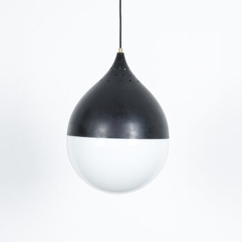 Stilnovo Glass Satin Ball Lamp 06