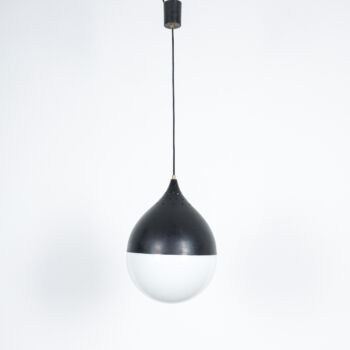 Stilnovo Glass Satin Ball Lamp 07