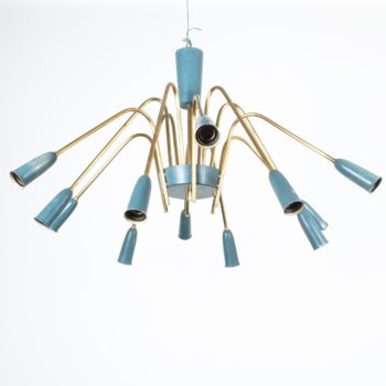 stilnovo large chandelier blue_06